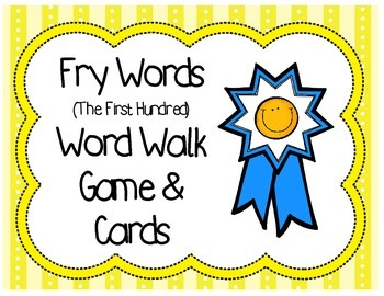 Word Walk Vocabulary Game