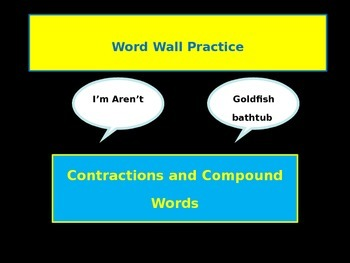 Word Wall Antonyms Synonyms