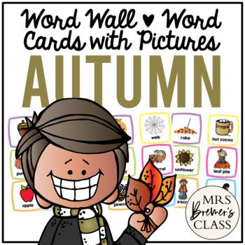 Word Wall {Autumn}