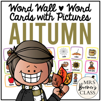Word Wall {Autumn}