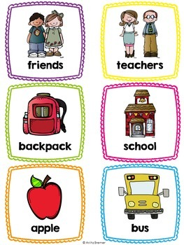 Word Wall {Back to School}