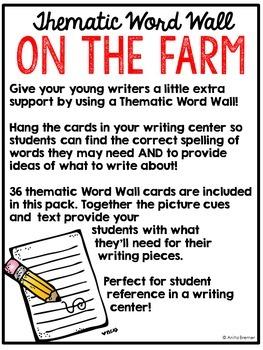 Word Wall {Farm}