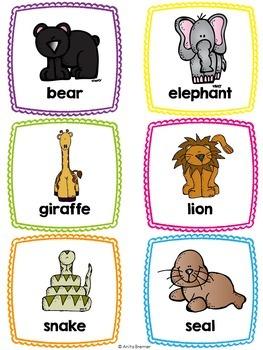 Word Wall {Animals}