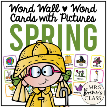 Word Wall {Spring}