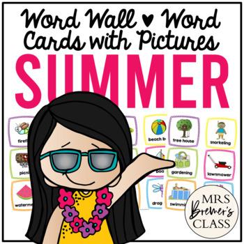 Word Wall {Summer}