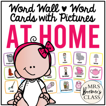 Word Wall {Around the House}