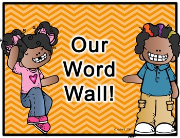 Word Wall Editable