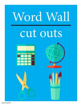 Word Wall - A-Z