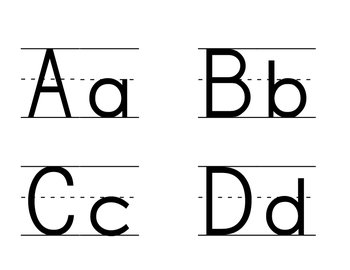 Word Wall ABC Cards