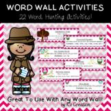Word Wall Activity Pack - Chevron Owl Theme