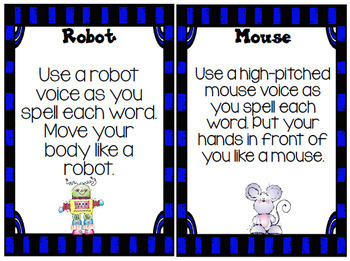 Sight Word Cards {Act It Out}