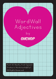 WordWall Adjectives by Ohchop