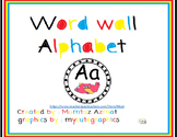 Word Wall Alphabet  :