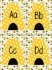 Word Wall Alphabet - Bumblebee Themed