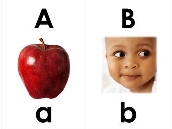 Word Wall Alphabet Cards