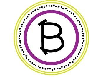 Word Wall - Alphabet (Circles)