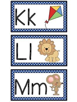 Word Wall Alphabet-Criss Cross Borders