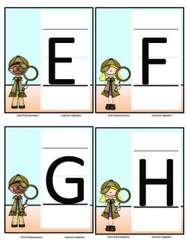 Word Wall: Alphabet Detectives