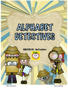 Word Wall: Alphabet Detectives