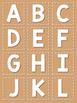 Word Wall Alphabet Header - Neutral