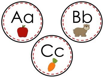 Word Wall Alphabet Headers