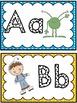 Word Wall Alphabet Headers: Space Theme