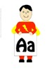 Word Wall Alphabet Headers- Superheroes (upper and lower case)