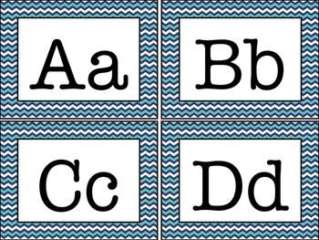 Word Wall Alphabet Headings