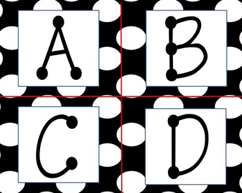 Word Wall Alphabet & More Classroom Decor Set