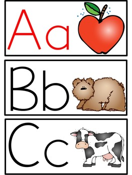 Word Wall & Alphabet Resources
