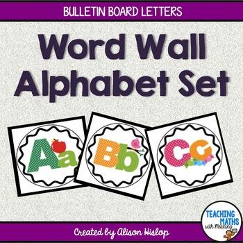 Word Wall Alphabet Set