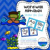 Word Wall Alphabet - Under the Sea Decor ~ Chevron