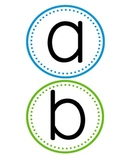 Word Wall Alphabet and 100 SIght Word Cards