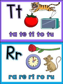 Word Wall Alternatives in Spanish