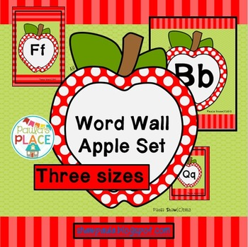 Word Wall Apple Set