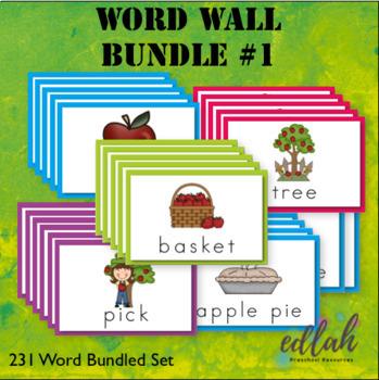 Vocabulary Word Wall BUNDLE 1