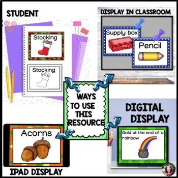 Word Wall BUNDLE (12 sets!)