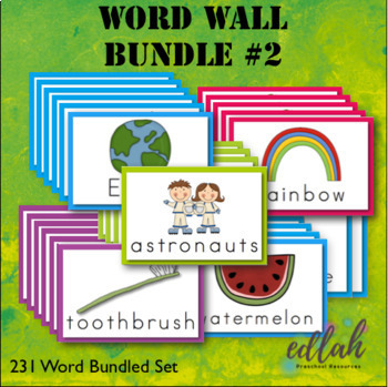 Vocabulary Word Wall BUNDLE 2