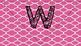 Word Wall Banner Geometric Design