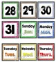Word Wall Banner and Headers Set with Calendar Numbers {Cr