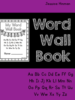 Word Wall Book
