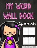 Word Wall Book {SPANISH}