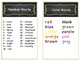 Word Wall Book for Students - Customizable