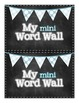 Word Wall - Booklet and Word Wall Words!