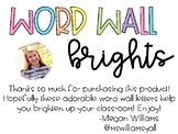 Word Wall Brights