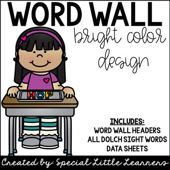 Word Wall {Brights Edition}