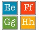 Word Wall Brights - Word Wall Letters in Bright Colors