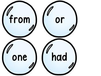 Word Wall -Bubble Theme