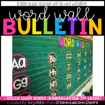 Word Wall Bulletin