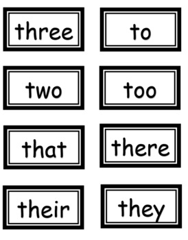 Word Wall Bulletin Board Set (Kindergarten & 1st Grade)